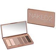 URBAN DECAY Naked2 Basics Palette, (6) 0.05 o z Eye Shadows - A415044