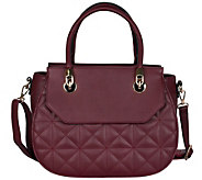 Karla Hanson Florence Quilted Satchel Bag - A419344