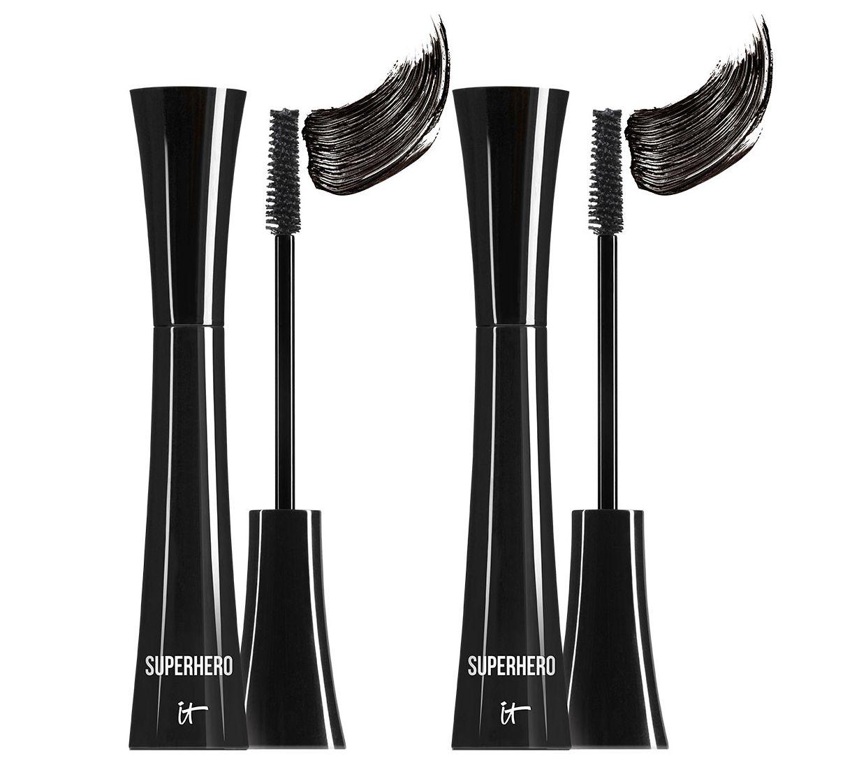 9f463969981 IT Cosmetics Superhero Elastic Stretch Volumizing Mascara Duo - Page 1 —  QVC.com