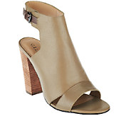 G.I.L.I. Leather Ankle Strap Sandals - Preston - A268145