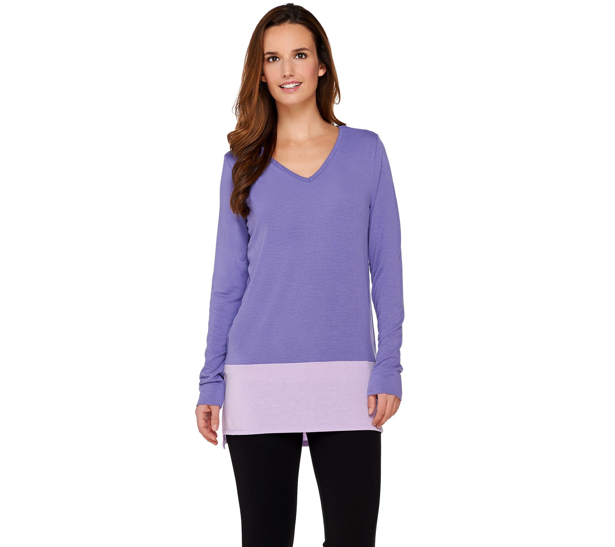 f7df0a5779a Women with Control Controlways Color-Block Tunic - Page 1 — QVC.com