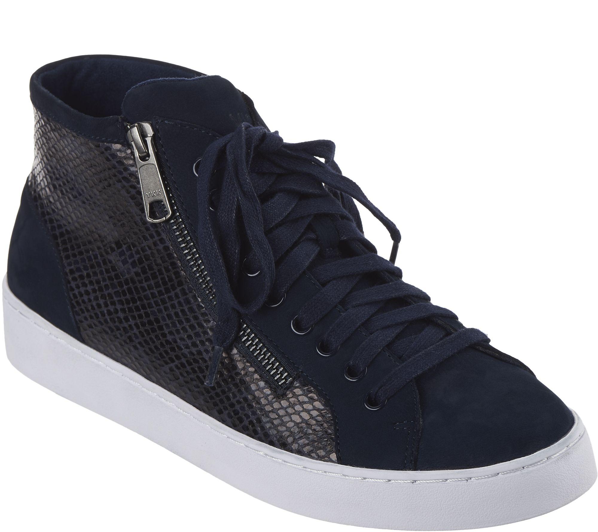 34591c2cd580 Vionic Lace-up High-Top Sneakers - Torri - Page 1 — QVC.com