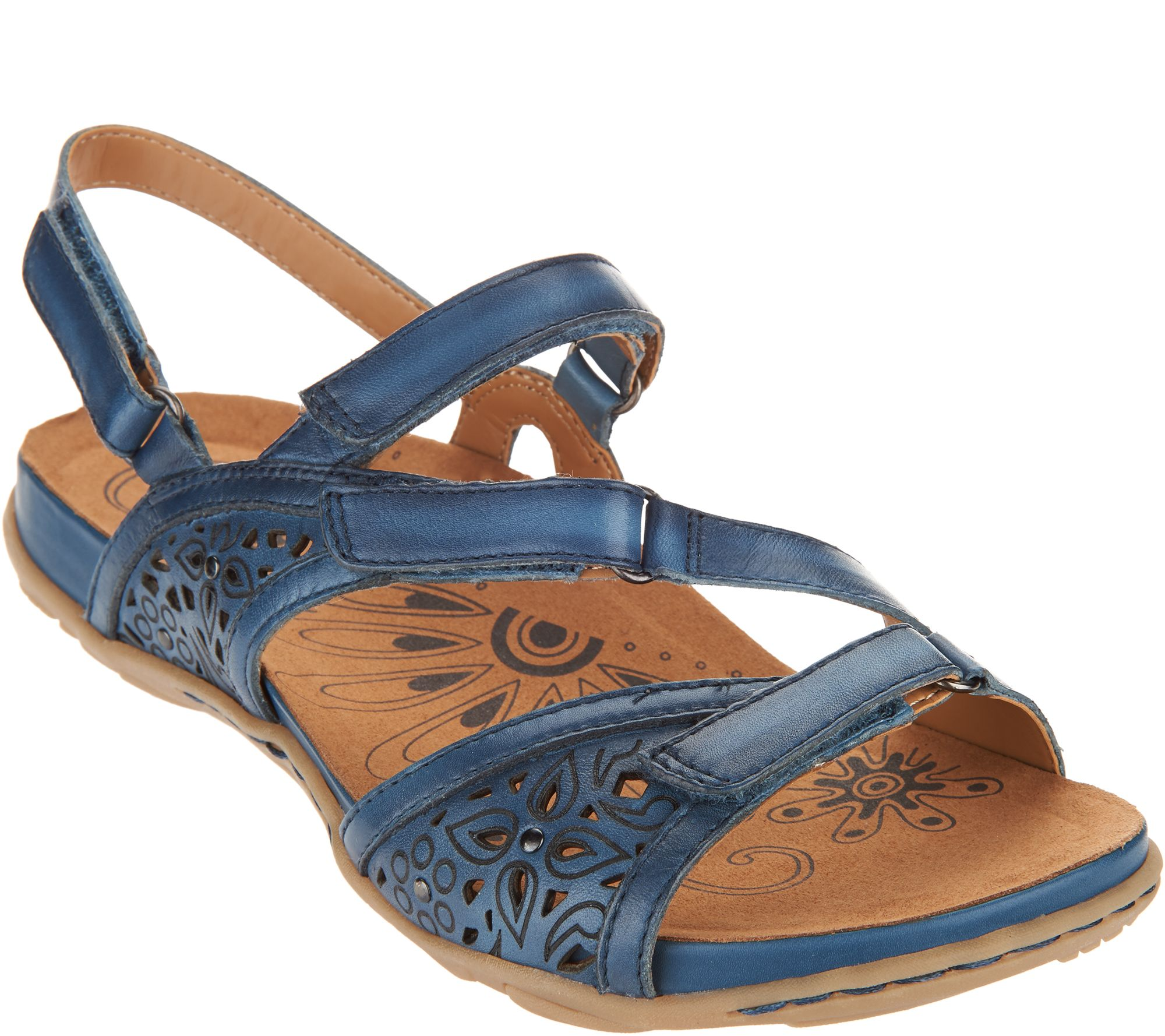 37099aacb10d Earth Leather Multi-strap Sandals - Maui - Page 1 — QVC.com