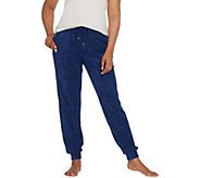 AnyBody Loungewear Baby Terry Jogger Pants With Pockets - A310045