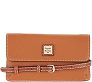 Dooney & Bourke Pebble Leather Flap Crossbody - Milly - A346045