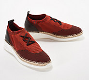 Vince Camuto Knit Sneakers with Jute Wrap- Affina - A353445