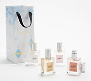 philosophy grace & roses 4-piece fragrance gift set w/ bag - A387645