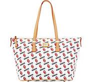 Dooney & Bourke NCAA University of Oklahoma Zip Top Shopper - A283246