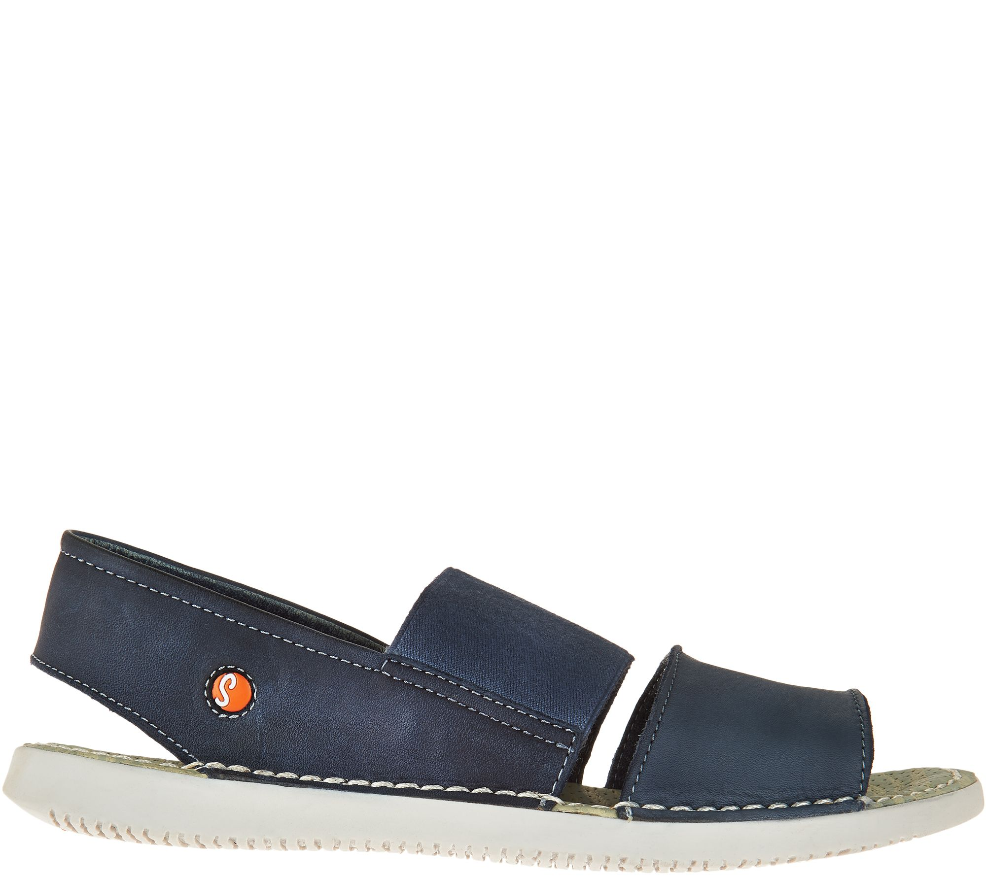 6efbd84f3f2 Softinos by FLY London Leather Slip-on Sandals - Tai - Page 1 — QVC.com