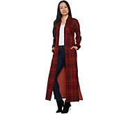 G.I.L.I. Regular Peached Knit Duster with Pockets - A293046