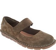 Clarks Suede Mary Janes - Tamitha Aster - A294546
