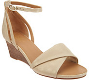 Franco Sarto Ankle Strap Wedge Sandals - Dierdra - A306946