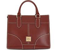 Dooney & Bourke Selleria Florentine Leather Jayne Satchel - A346046