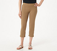 Women with Control Petite Tushy Lifter Crop Pants - A350646