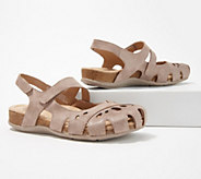 Earth Origins Leather Mary Janes with Backstrap - Bosk Benji - A350746