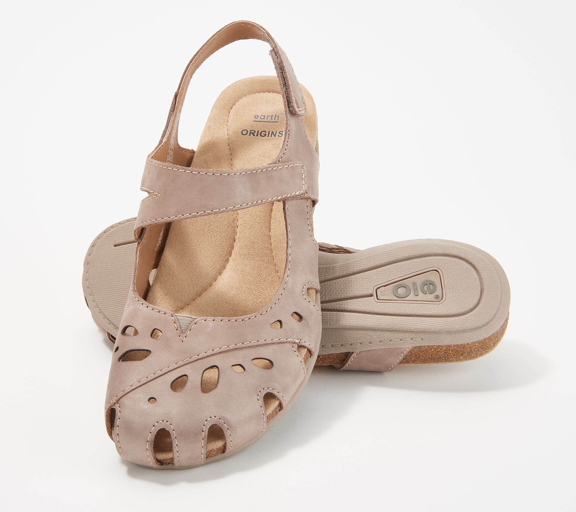 8a6ba4d0f675 Earth Origins Leather Mary Janes with Backstrap - Bosk Benji - Page 1 —  QVC.com