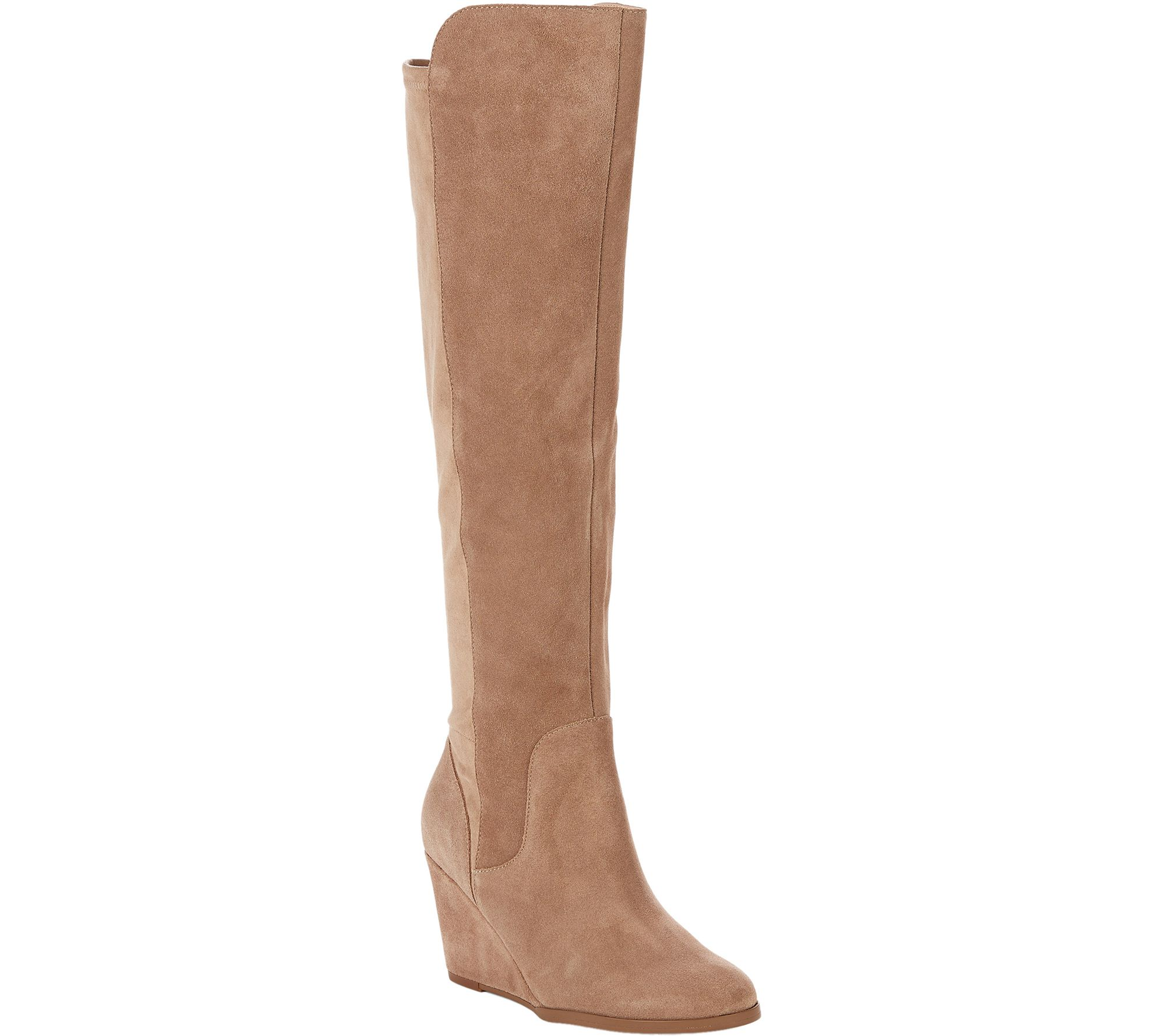 5bb13f09c165 Sole Society Tall Leather Boots - Laila — QVC.com