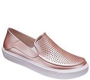 Crocs Slip-Ons - CitiLane Roka Metallic - A413146