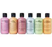 philosophy shower gel 6-pack - A413946