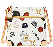 Dooney & Bourke MLB Rockies Crossbody - A280047