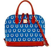 Dooney & Bourke NFL Colts Zip Zip Satchel - A285747