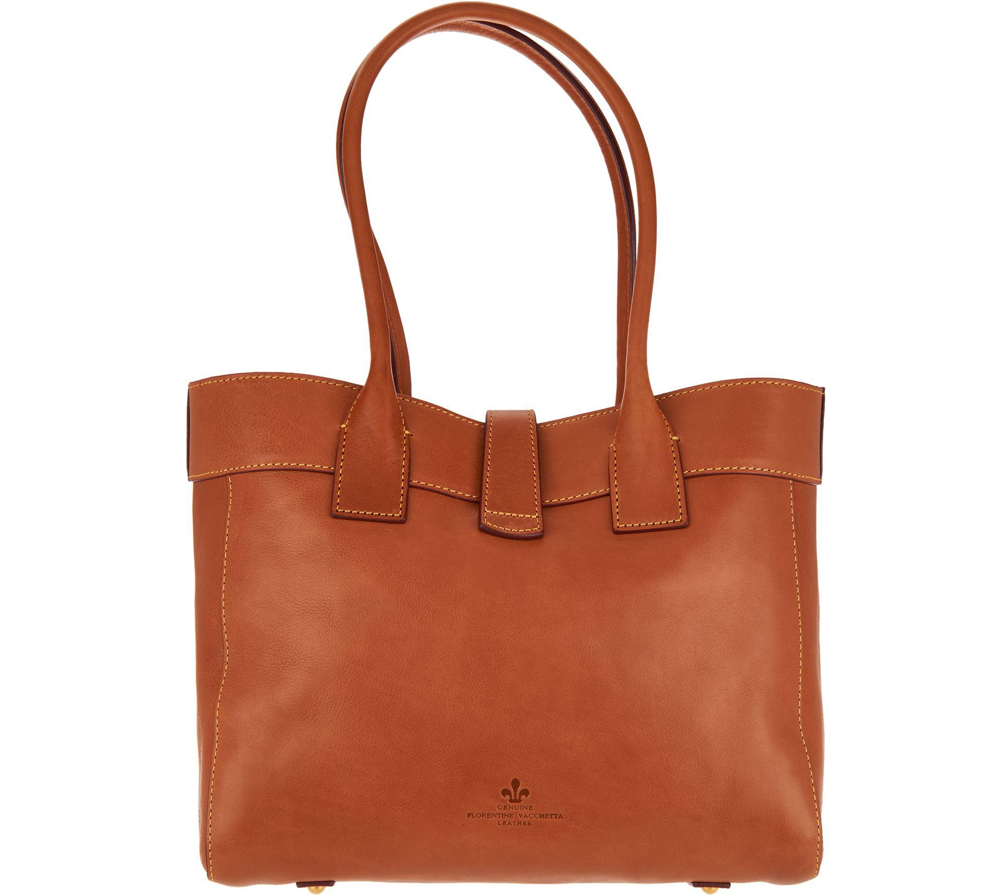 dee3709e189a Dooney   Bourke Florentine Leather Amelia Shoulder Bag — QVC.com