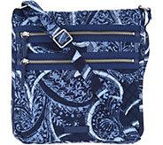 Vera Bradley Iconic Signature Triple Zip Hipster Bag - A304147