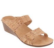 Vionic Slide Wedge Sandals - Chrissy - A305647