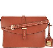Dooney & Bourke Selleria Florentine Leather Flap Crossbody - A346047