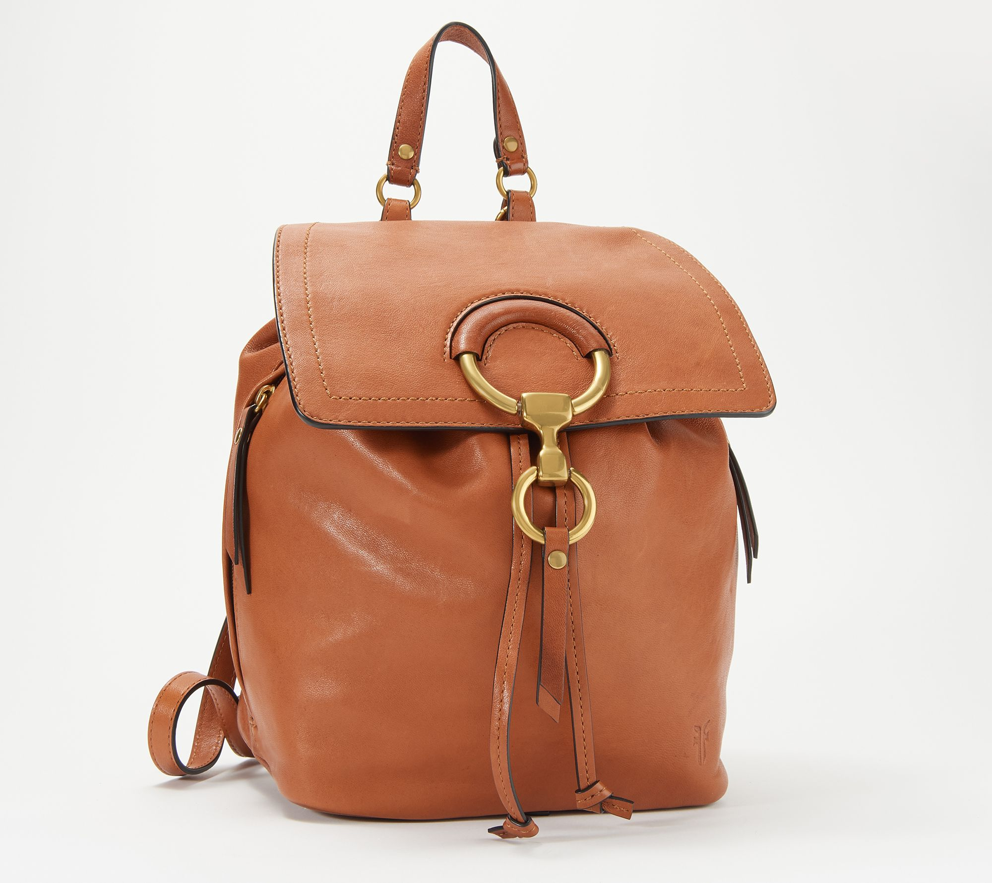 f63a366fa8 Frye Leather Ilana Small Backpack — QVC.com