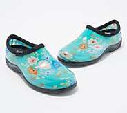 Sloggers Floral Fun Waterproof Garden Shoes w/ Comfort Insoles - A374247