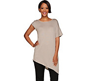 H by Halston Asymmetrical Pullover Sweater - A276848