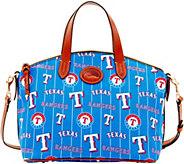 Dooney & Bourke MLB Nylon Rangers Small Satchel - A281748