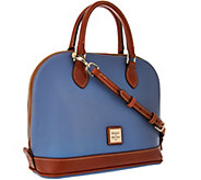 Dooney & Bourke Pebble Leather Zip-Zip Satchel - A286548