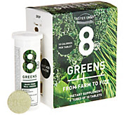 8Greens Effervescent Drink Tablets 60 Count Auto-Delivery - A288448