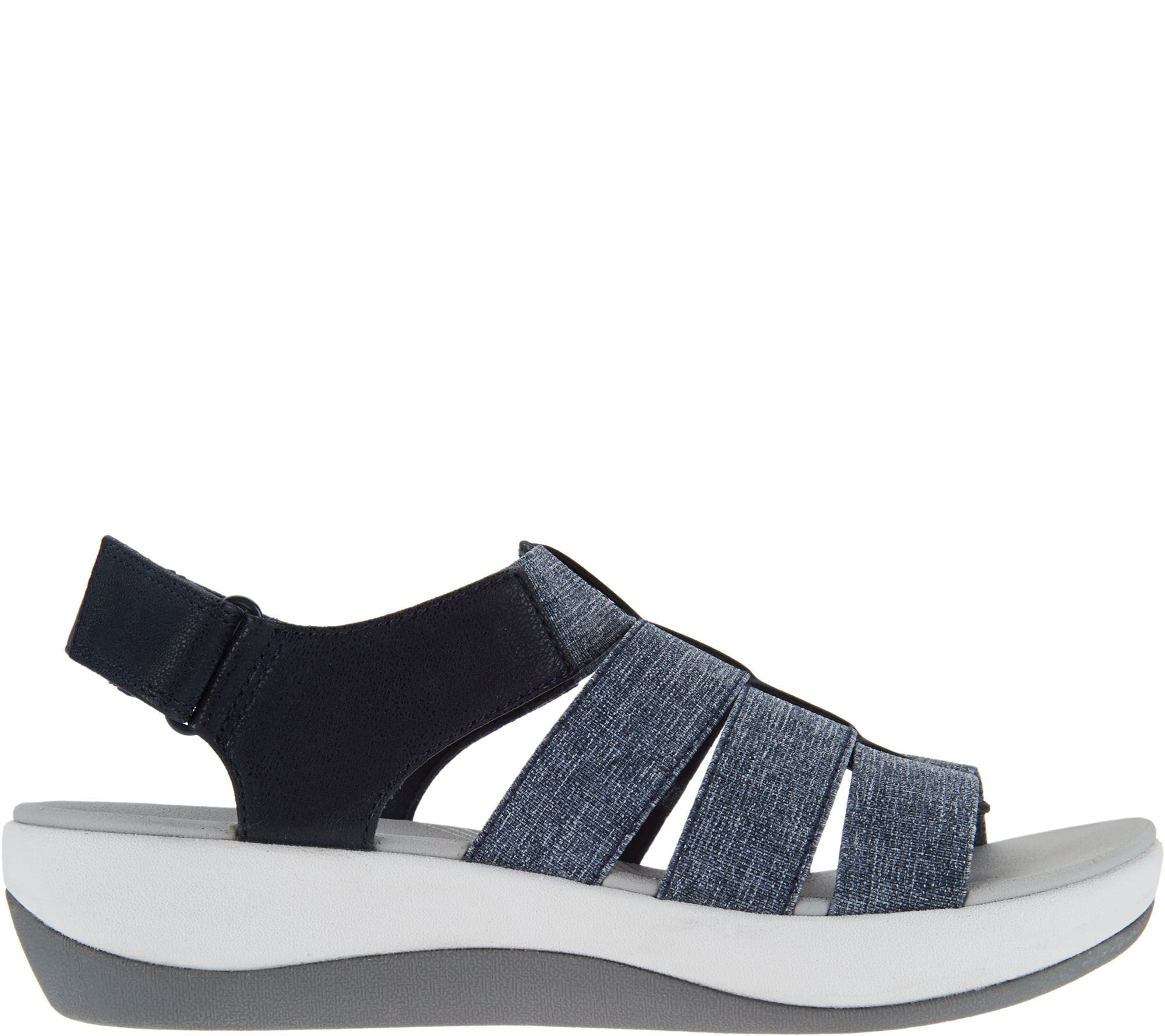 43e42458a66 CLOUDSTEPPERS by Clarks Sport Sandals - Arla Shaylie - Page 1 — QVC.com