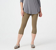LOGO Layers by Lori Goldstein Knit Pedal Pushers - A290248