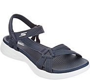 Skechers GO Walk Move Quarter Strap Sandals - Brilliancy - A304448