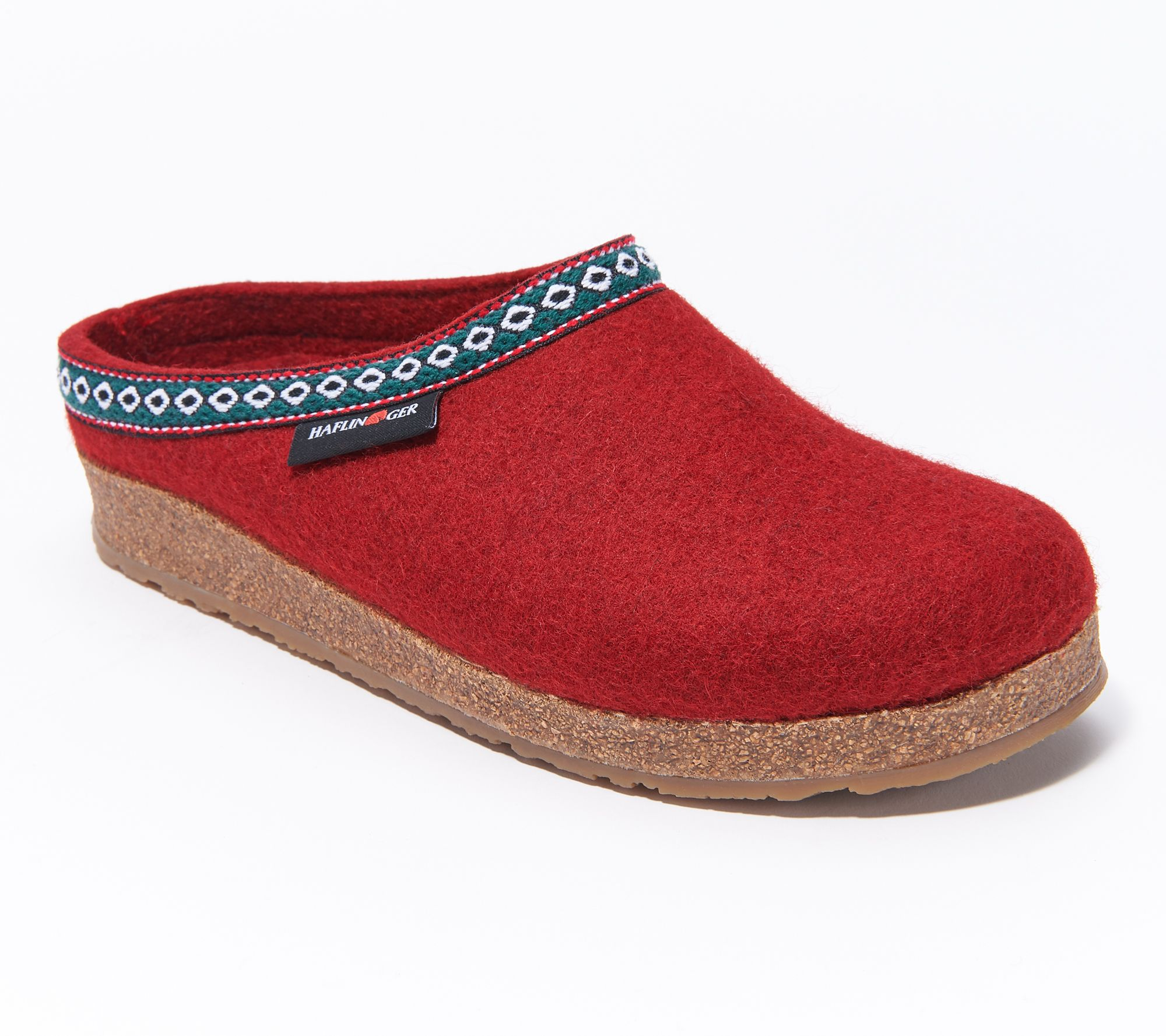 69427bfbe8e7 Haflinger Grizzly GZ Classic Wool Felt Clogs - Page 1 — QVC.com
