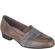 Clarks Leather Slip-On Loafers - Juliet Rose - A345148