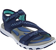 As Is Ryka Adjustable Sport Sandals- Ginger - A347048