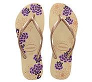 Havaianas Flip Flop Sandals - Slim Organic - A356948