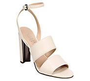 Franco Sarto Suede Double Strap Sandals - Haneli - A411748
