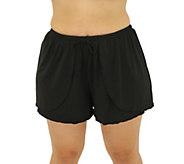 Fit 4 U Fit 4 Ur Hips Drawstring Shorts - Plus - A413048