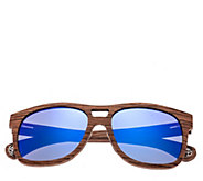 Earth Wood Las Islas Polarized Sunglasses - A414348