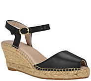 Andrew Stevens Wedge Espadrille Sandals - Ana - A414848