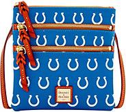 Dooney & Bourke NFL Colts Triple Zip Crossbody - A285649