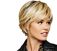 Hairdo Chin Length Textured Fringe Bob Wig - A292649