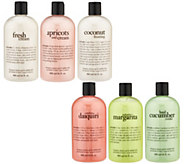 philosophy summer treats shower gel collection - A303849