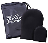 Million Dollar Tan Blend Friend Mitt Set - A339949